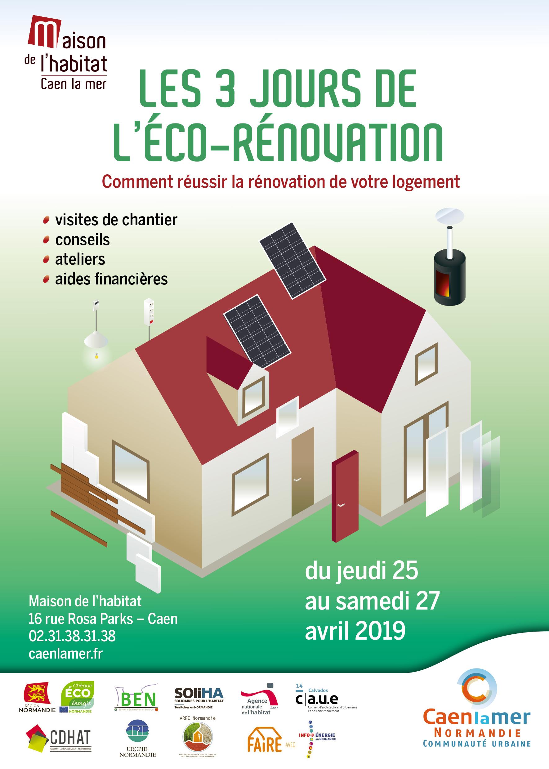 [EVENEMENT] Les 3 jours de l'éco-rénovation du 25 au 27 avril 2019