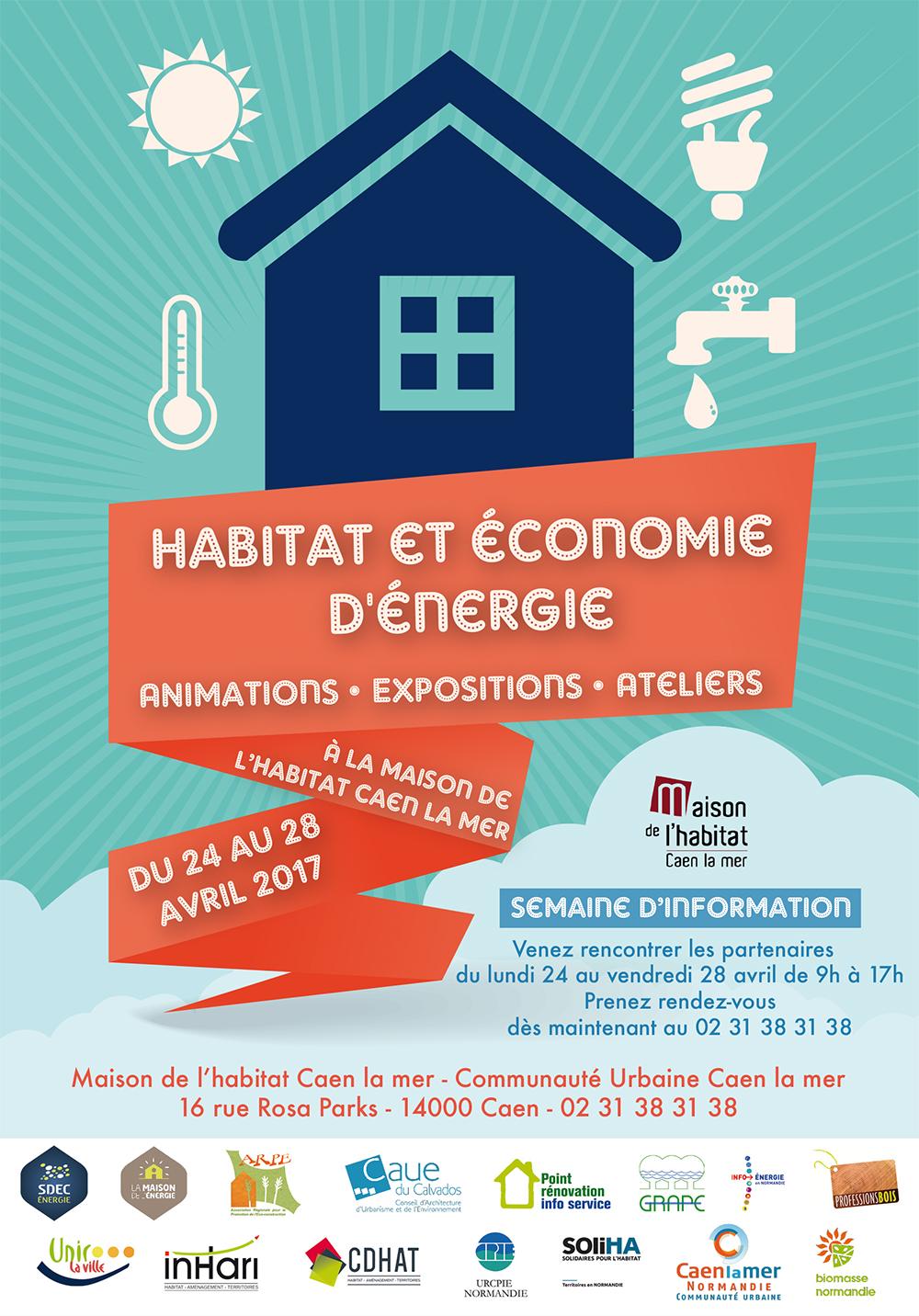 Habitat et économie d'énergie Maison de l'Habitat du 24 au 28 avril 2017