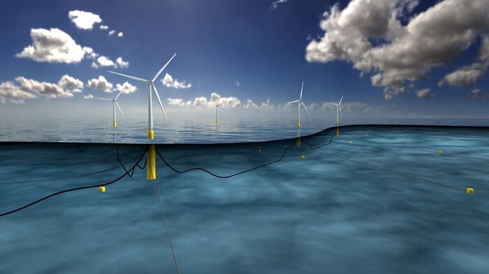 Parc éolien flottant Ecosse Statoil