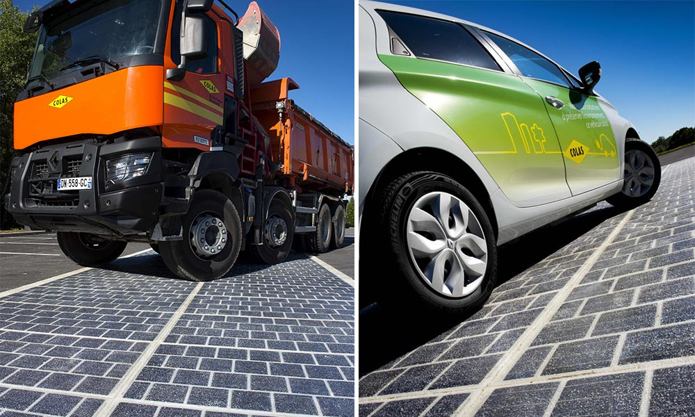 Route photovoltaïque Watt Way