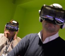 Inauguration de la Fabrique Energétique : aux comptoirs de l'innovation, le réseau électrique dans la transition énergétique en réalité virtuelle, avec Enedis (Crédits photos : Stéphane Dévé)