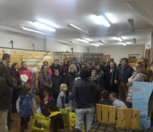 Vernissage parcours de l'énergie Pays d'Auge Ressourcerie 25 novembre 2016