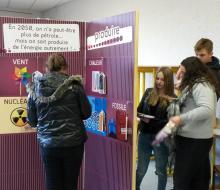 """Découvetre de """"2050 nomade"""" par les élèves du lycée Jean Rostand de Caen"""