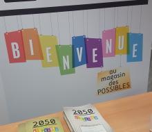 2050 version nomade s'expose à Creully-sur-Seulles du 15 janvier au 23 février 2018