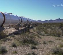 Piste d'essai Hyperloop dans le Nevada