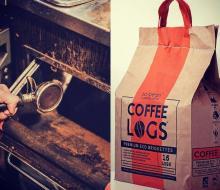 La start-up Bio Bean avec ses bûches au marc de café