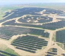 Centrale solaire de Panda Green Energy Group à Shanxi en Chine © Tous droits réservés