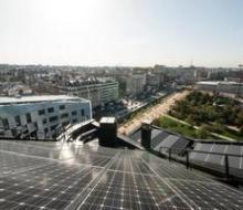 Centrale photovoltaïque de l'éco-quartier Clichy-Batignolles