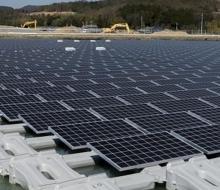 Système de centrale solaire flottante Chine