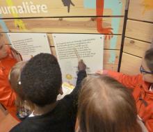 Les élèves de Pont-L'Evêque découvre le Parcours de l'Energie