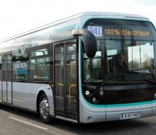 Le bus Bluebus RATP